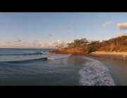 Flinders Fun - Flinders Beach Aerial Video - North Stradbroke Island