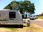 Our Coromal Elements 696 at Agnes Water Beach Caravan Park