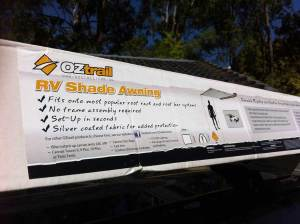 Installing an OzTrail RV Shade Awning