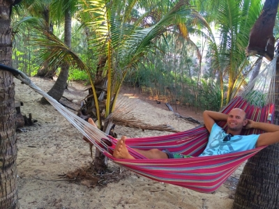 Relaxing at Thala Beach Nature Reserve