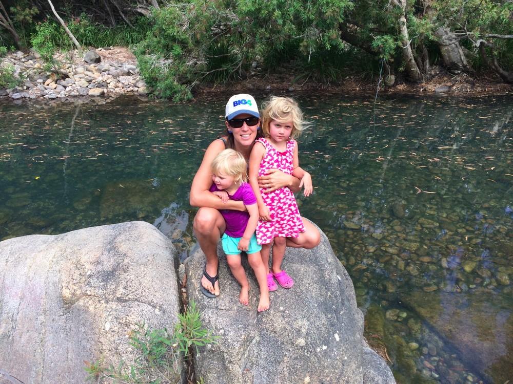 Rollingstone, QLD in a hidden water hole