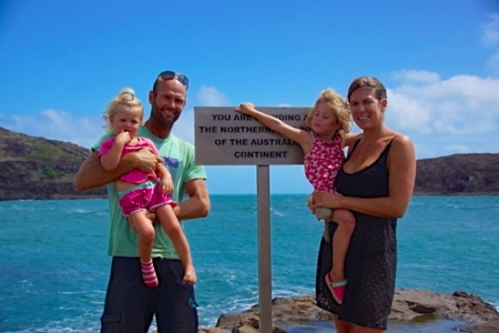 The Northernmost tip of the Australian continent