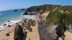 Corunna Lake Aerial Video
