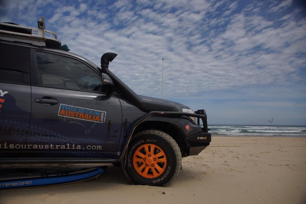 Beach driving Stockton Beach