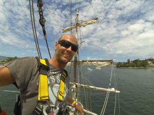 Sydney Tallships Mast Climb